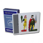 Deck of Siciliane 96/10 Italian Regional Playing Cards