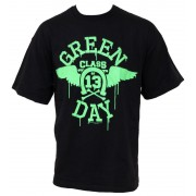 tricou stil metal bărbați Green Day - Neon Wings - BRAVADO EU - GDTS06MB