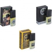 Skyedventures Set of 3 Devdas-Kabra Black-Kabra Yellow Perfume