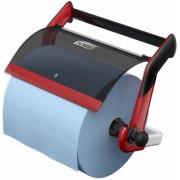 Dispenser rola industriala de perete negru/rosu Tork