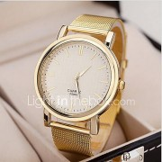 Dames Dress horloge Polshorloge Kwarts Legering Band Goud