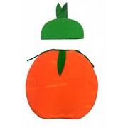 Orange Dress for Kids Fruits Costume (Orange)
