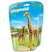 Playmobil giraffa con cucciolo 6640