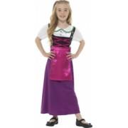 Costum de carnaval de printesa bavareza Oktoberfest pentru copii 12-14 ani