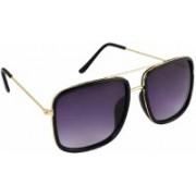 arko Retro Square Sunglasses(Violet)