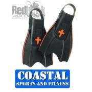 REDBACK 100% PURE RUBBER SURF FIN - Dive Bodyboard [Size:XLarge]