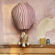 Strömshaga Luftballongslampa Rand Rosa