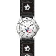 Černé chlapecké dětské hodinky JVD basic J7071.3