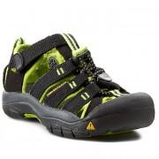 Szandál KEEN - Newport H2 1009942 Black/Lime Green