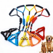 Nylon Cucurbit Deduction Chest And Back Traction Suits Pet Dog Leads Supplies