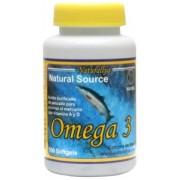 Omega 3 Natural 100 Perlas 500mg