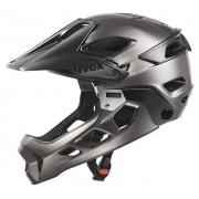 Uvex Jakkyl Hde - casco enduro - black/dark silver matt