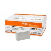 Rezerva prosoape pliate Z, Celtex 7277S, 2 straturi, alb, 120 buc/pachet, 25 pachete/cutie