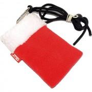 Celly Custodia Fondina Con Laccio Da Collo Pukka-Chrismas Case Universale Red-White Per Modelli A Marchio Philips
