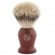 Frank Shaving Roteichen Best Badger Rasierpinsel