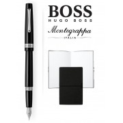 Set stilou Armonia Nero Montegrappa si Note Pad Hugo Boss