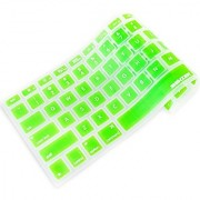 iBenzer - Macaron Series Keyboard Cover Silicone Rubber Skin for Macbook Pro 13 15 17 (with or w/out Retina Display) Macbook Air 13 and iMac Wireless Keyboard - Green MKC01GN