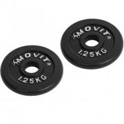 MOVIT Profesionálna činka 15 kg čierna
