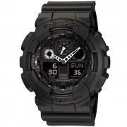reloj digital analogico casio g-shock GA-100-1A1ER genuino-negro