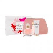 Guerlain Mon Guerlain подаръчен комплект EDP 100 ml + EDP 10 ml + лосион за тяло 75 ml + козметична чантичка за жени