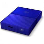 Портативен външен диск WD My Passport 4TB, Blue - WDBYFT0040BBL
