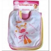 Unifamily set bavaglini bimba bambina girl 7pz