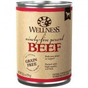 Wellness Ninety-Five Percent Canned Dog Food Beef 12/13.2 oz
