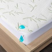 Protecție saltea 4Home Bamboo impermeabilă cu bordură, 180 x 200 cm + 30 cm, 180 x 200 cm