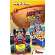 Mickey si pilotii de curse - Invat sa citesc nivelul 1