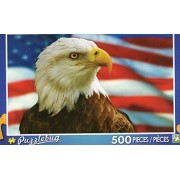 Puzzlebug 500 Piece Puzzle ~ American Bald Eagle
