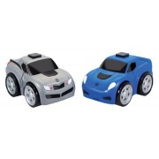 Kid Galaxy Ratchet Racers Race Car/Pickup Truck Set