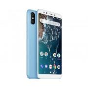 "Xiaomi Telefono movil smartphone xiaomi mi a2 azul 5.99""/ 64gb rom/ 4gb ram/ dual camera 12+20 mpx/ camara delantera 20 mpx/ 18:9 / hue"