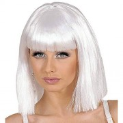 Ladies Showgirl White Wig for Hair Accessory Fancy Dress