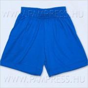 Pamut short - kék