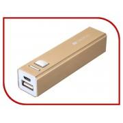 Аккумулятор Canyon CNE-CSPB26 2600mAh Gold CNE-CSPB26GO