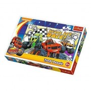 Puzzle Trefl - Ready To Race Monster Machines, 100 piese (16301)