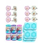 Vegaoo Mini - Geschenke Set Die Schneekönigin