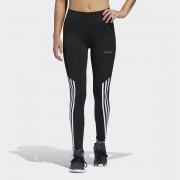 Adidas Performance Leggings bimatéria, CorePreto- S