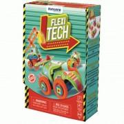 Joc constructii Flexi Tech Miniland, 74 piese, 12 x 12 cm