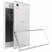 Capa de TPU Anti-Slip para Sony Xperia XA1 - Transparente