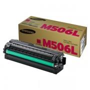 Samsung Originale CLP-680 Series Toner (M506L / CLT-M 506 L/ELS) magenta, 3,500 pagine, 2.33 cent per pagina