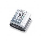 Tensiometru electronic de incheietura Beurer BC40, Detecteaza aritmia, Alb