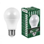 Лампа светодиодная Saffit SBA6020 A60 20W E27 6400K 55015
