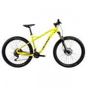 "Bicicleta Mountain Bike Devron ZERGA UNI 1.7, Roti 27.5"", Frana hidraulica pe disc, Cadru XL - 520mm (Galben)"