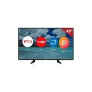 "Smart TV LED 49"" TC-49EX600B Panasonic, 4K HDMI USB com Função Ultra Vivid e Wi-Fi Integrado"