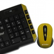 Prodot Trendy Multimedia Wireless Keyboard and Mouse Combo (TLC 107+145) in Multicolors