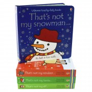 Usborne Thats Is Not My Touchy Feely 4 Books - Toy Books - Board Books - Fiona Watt & Rachel Wells