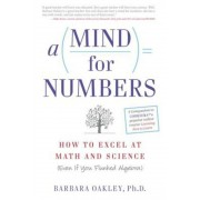 A Mind for Numbers: How to Excel at Math and Science (Even If You Flunked Algebra), Paperback