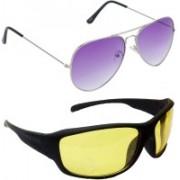 Redleaf Aviator, Sports Sunglasses(Violet)
