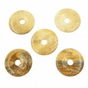 Donut (fánk) medál - Tájképjáspis